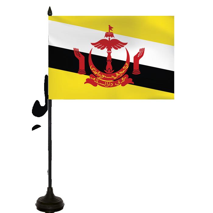 Desk Flag - Brunei Darussalam Flag