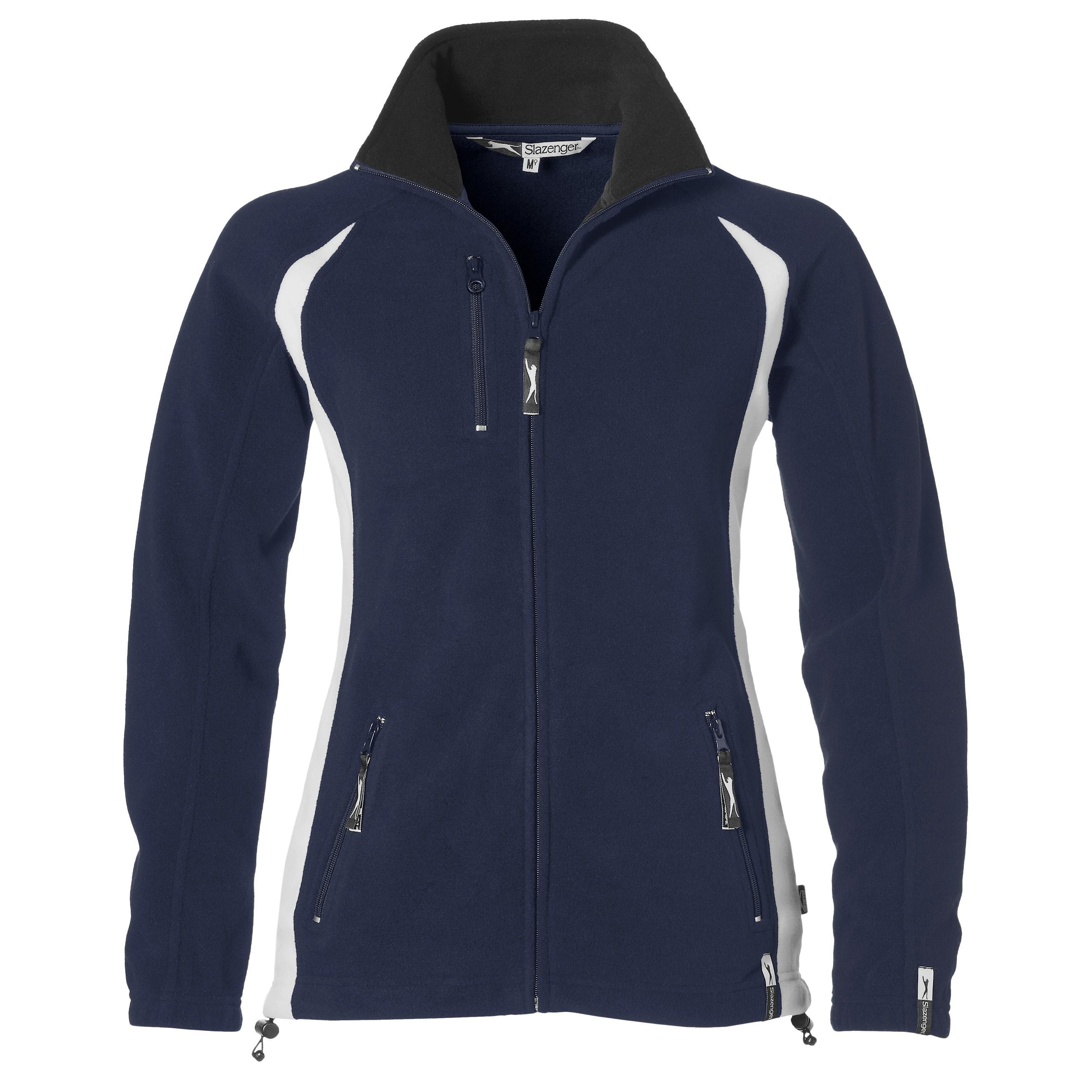 Ladies Apex Micro Fleece Jacket - Navy Only