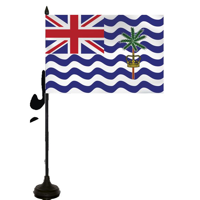 Desk Flag - British Virgin Isles Flag