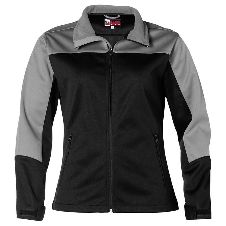 Ladies Attica Softshell Jacket - Black Only
