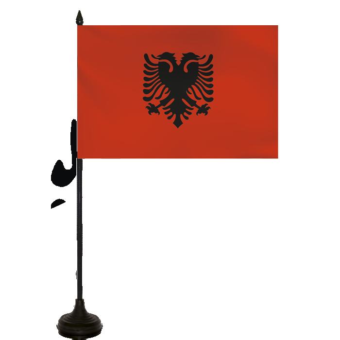 Desk Flag - Albania Flag