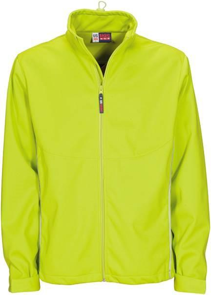 Mens Cromwell Softshell Jacket - Lime Only