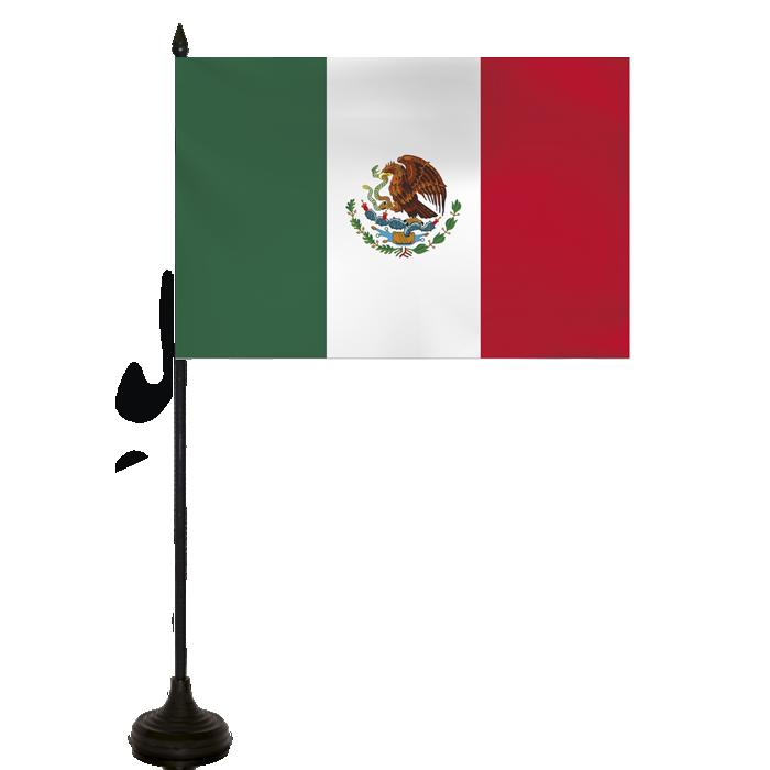 Desk Flag - Mexico Flag