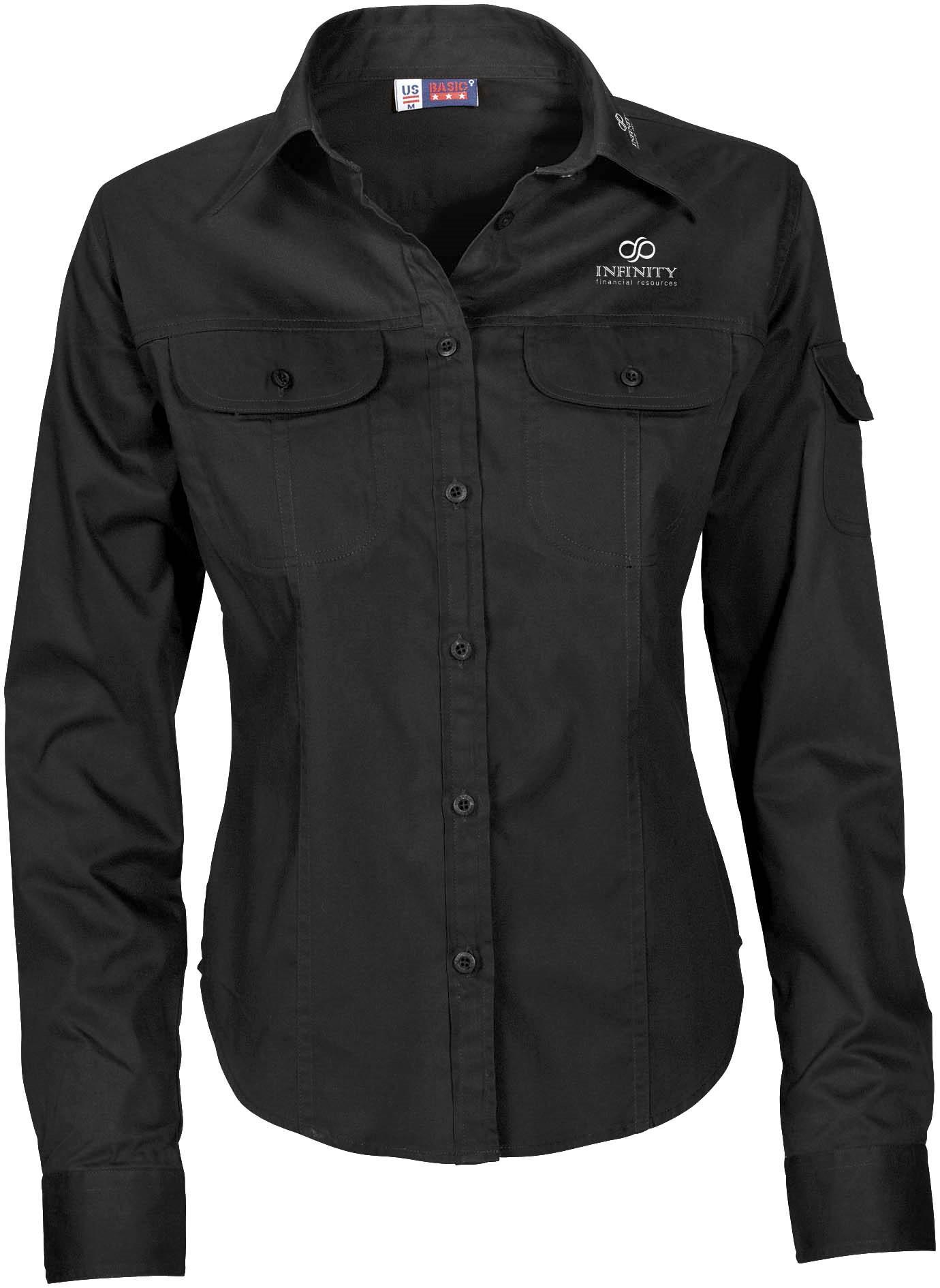 Ladies Long Sleeve Phoenix Shirt - Black Only