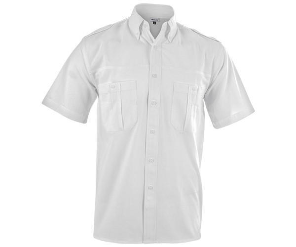 Tracker Short Sleeve Shirt - White Only