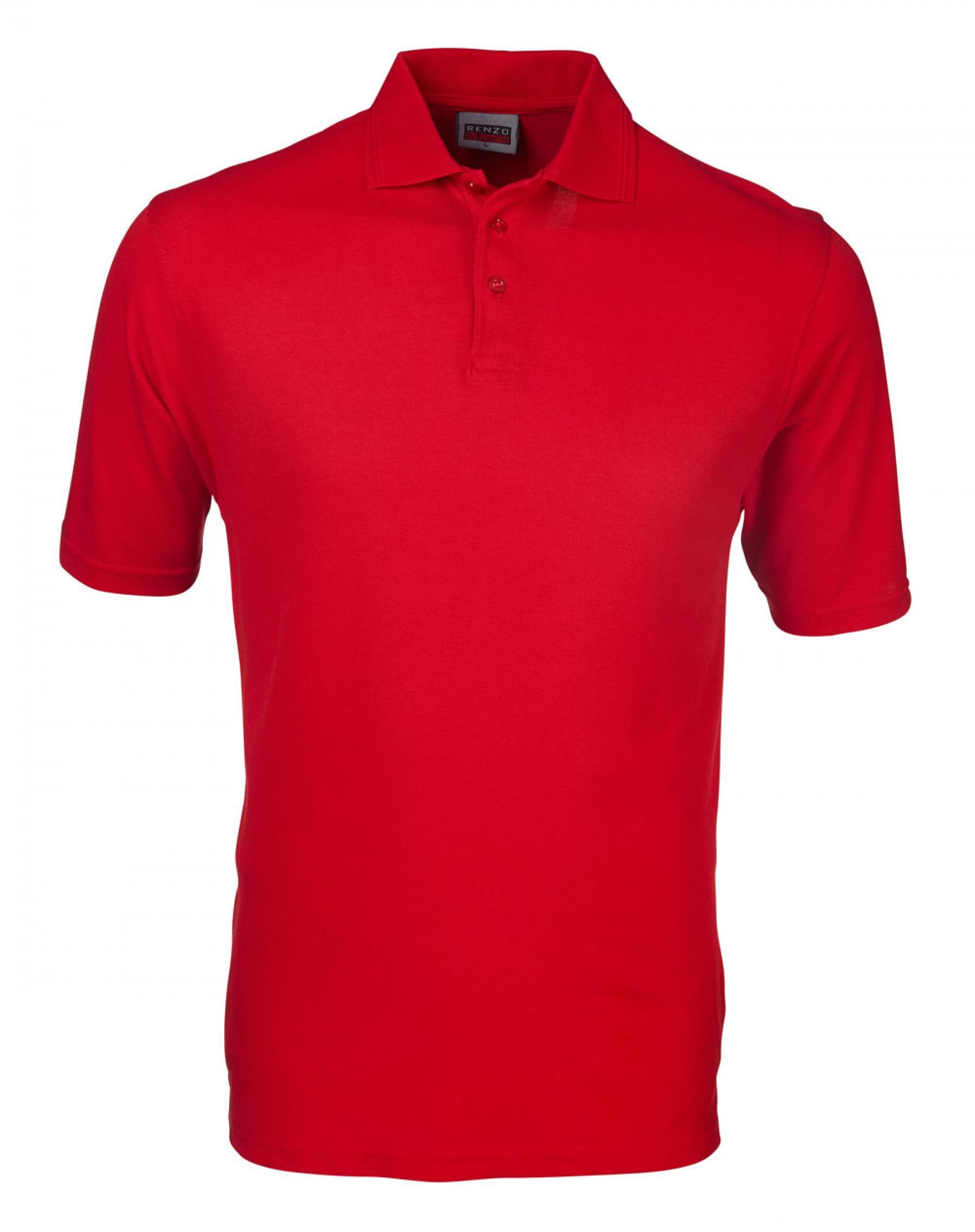 P18 Pique Golfer - Pillar Box Red