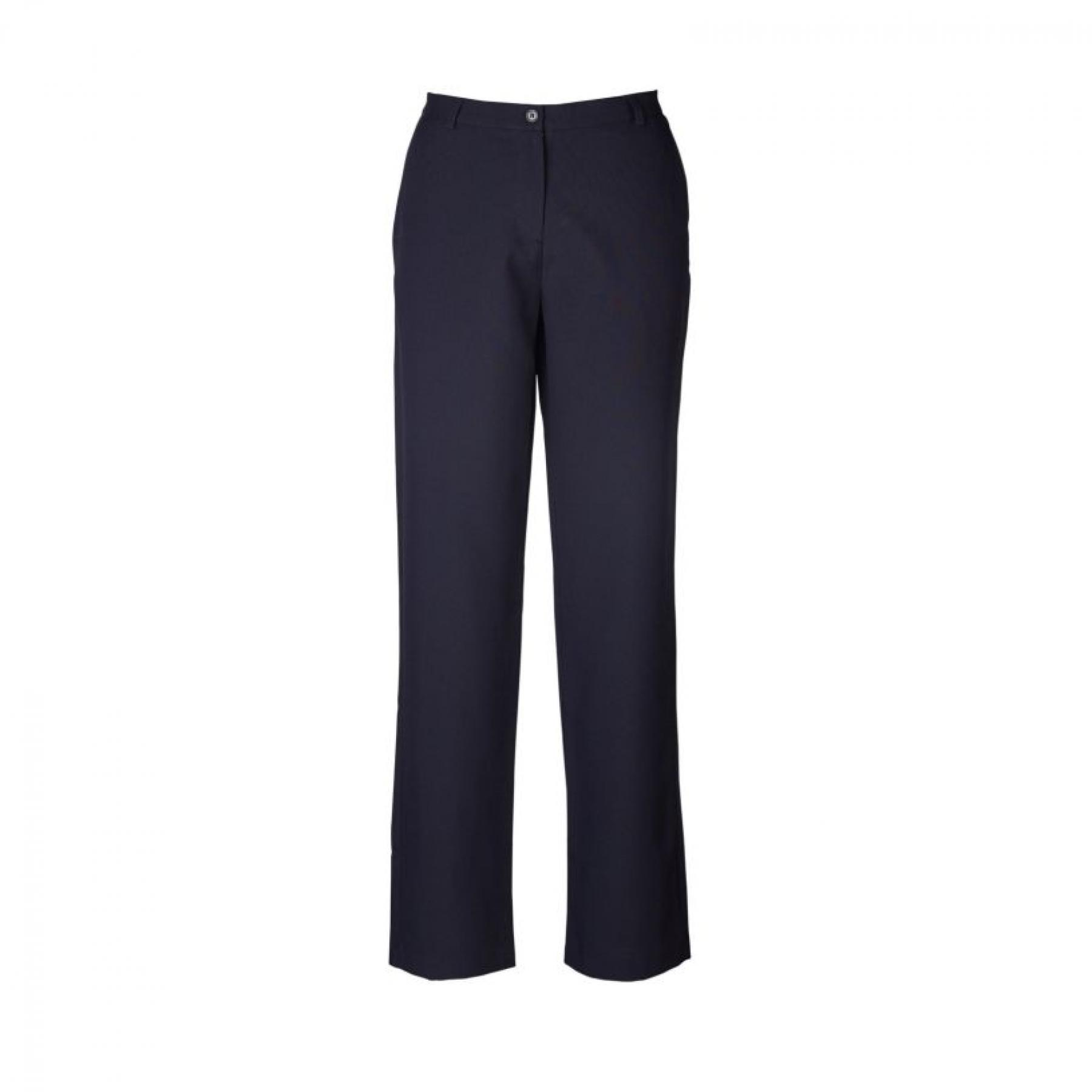 Kerry Straight Cut Slacks - Navy