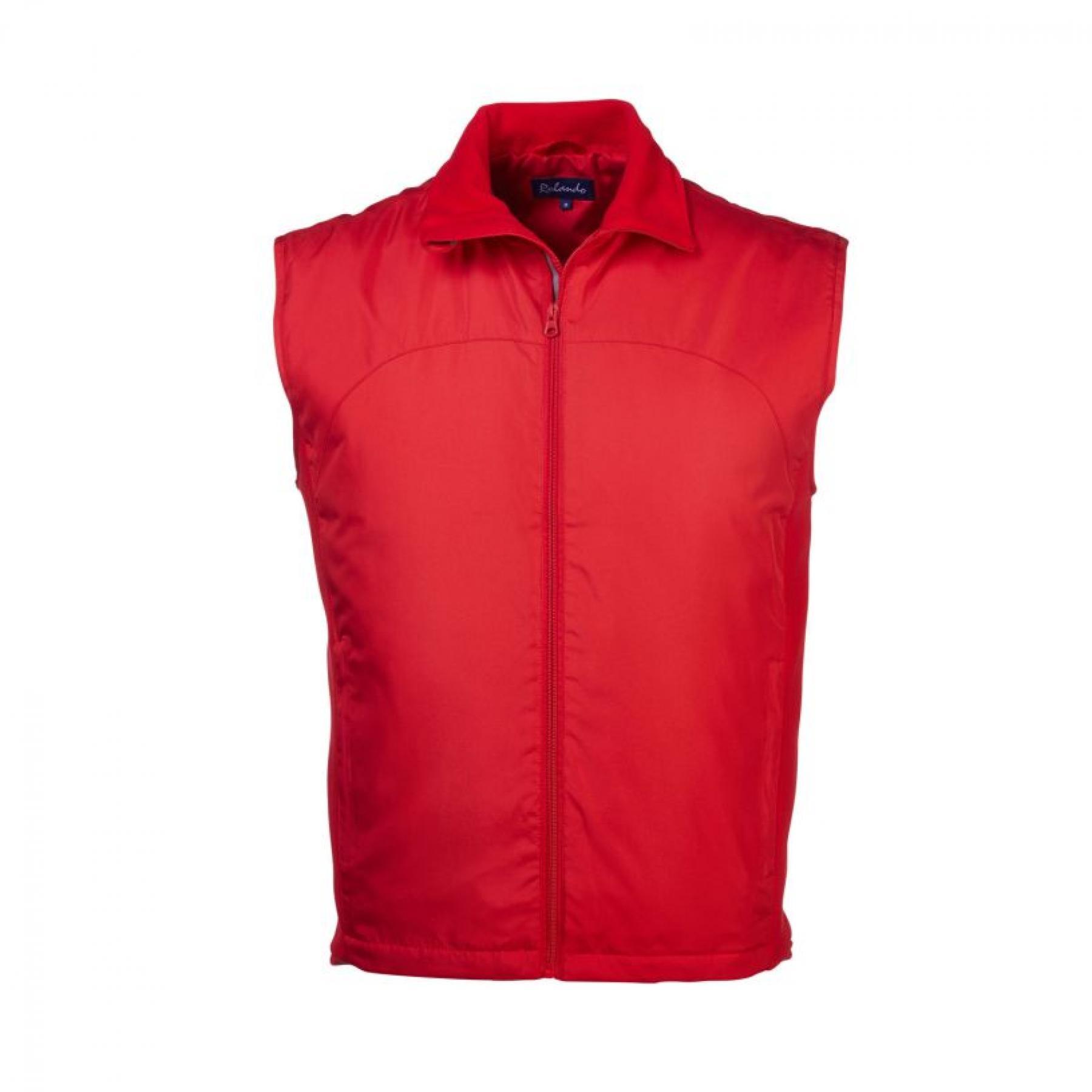 Sergio S/less Polar Fleece - Red
