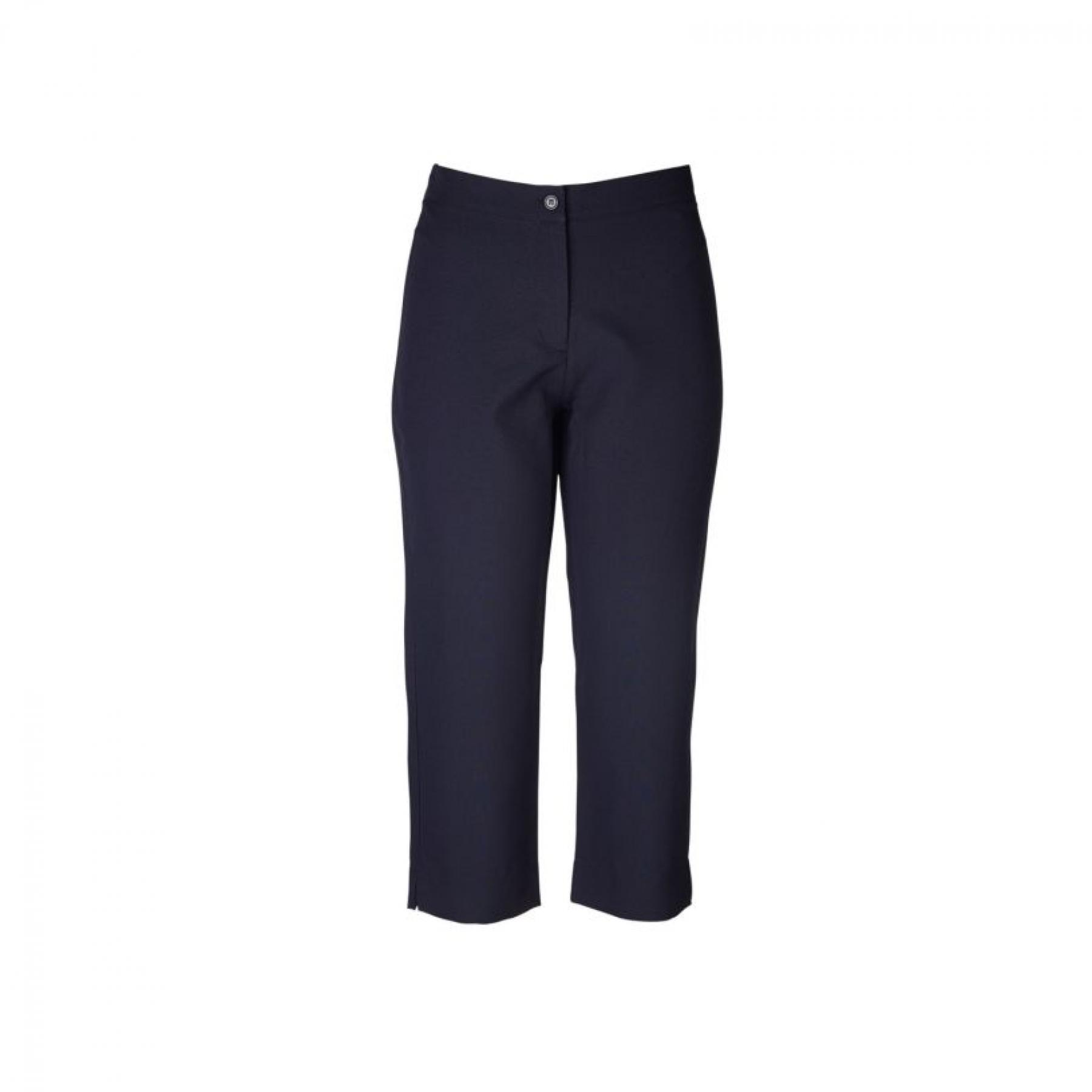 Louise Capri 3/4 Pants - Navy