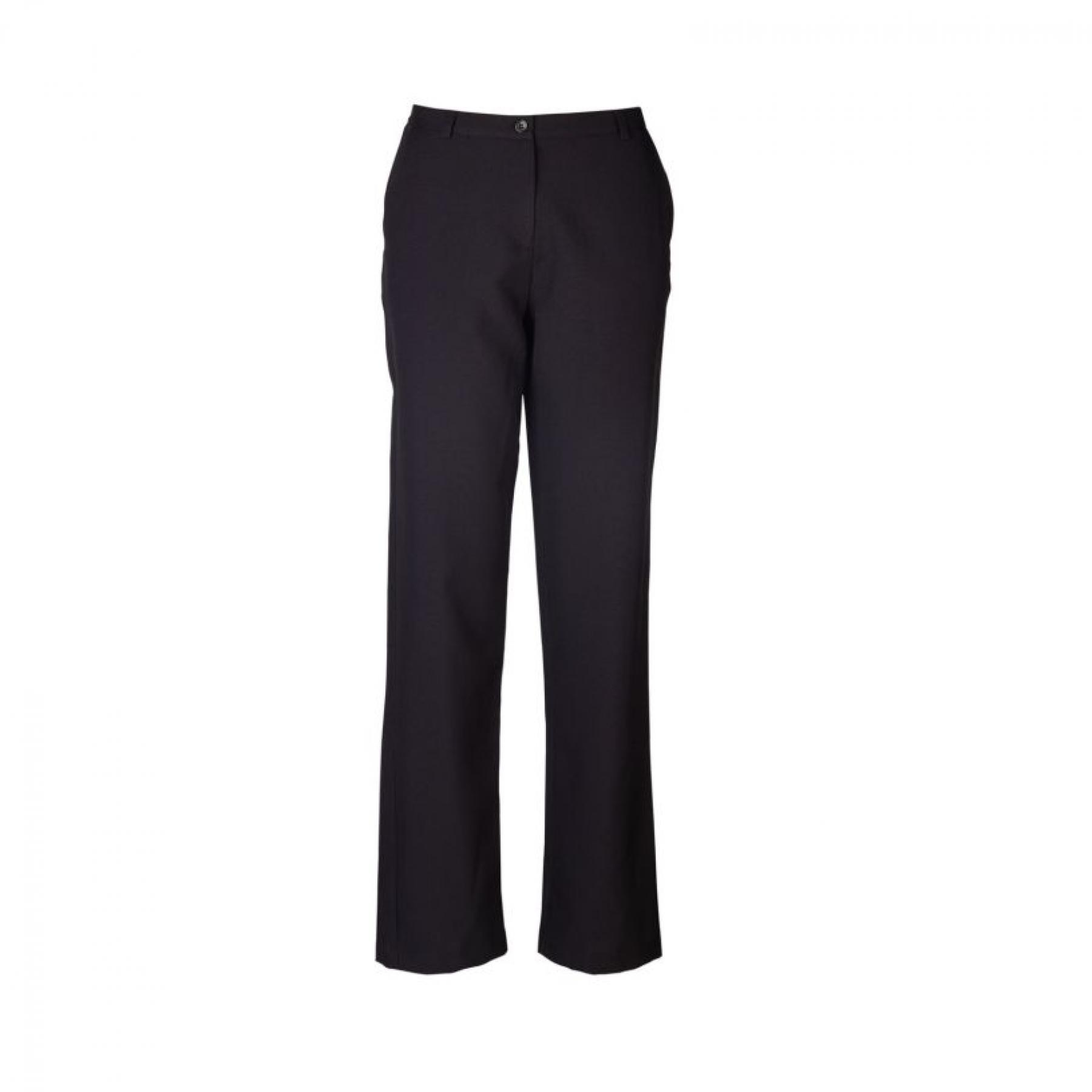 Kerry Straight Cut Slacks - Black