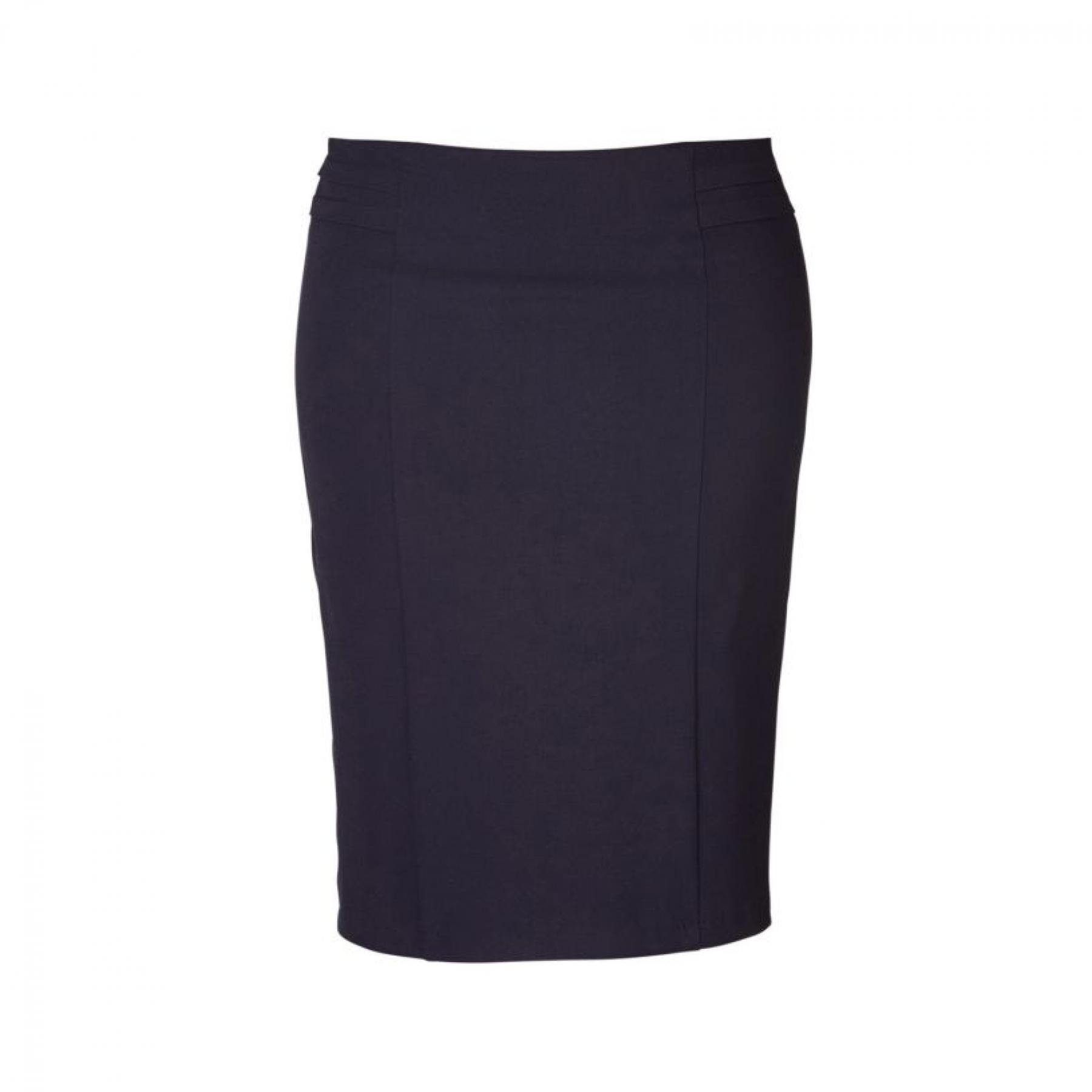 Sonya 505 Pencil Skirt - Navy
