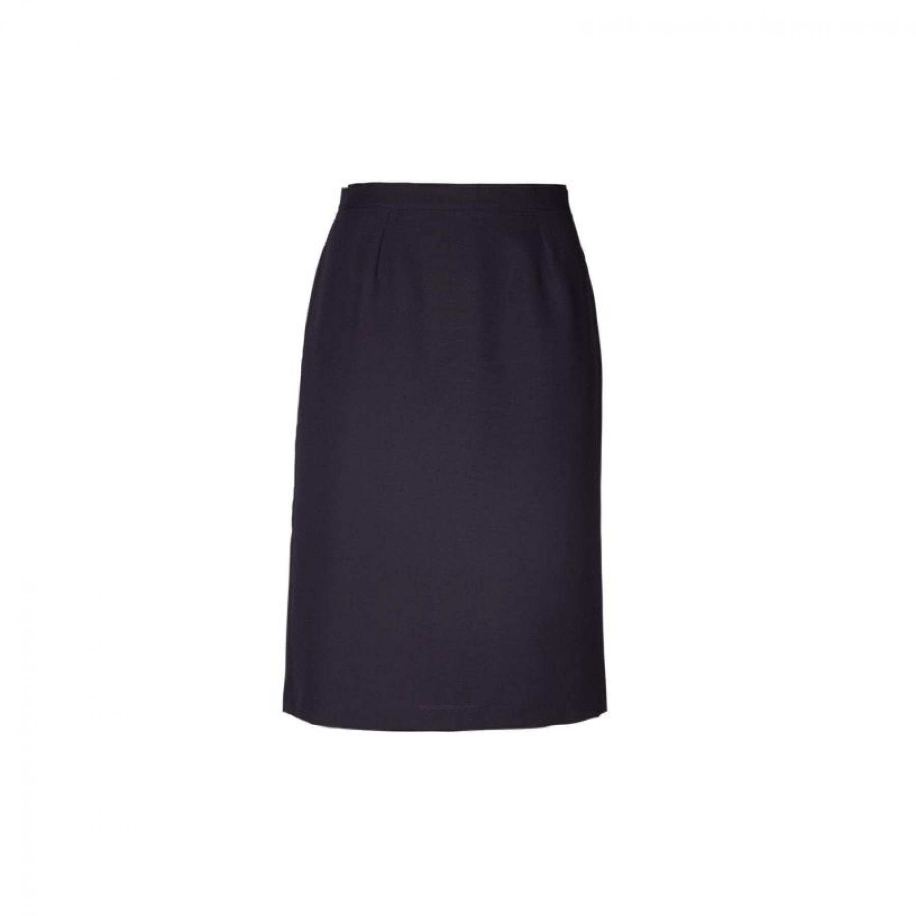 Emma Pencil Short Skirt - Black