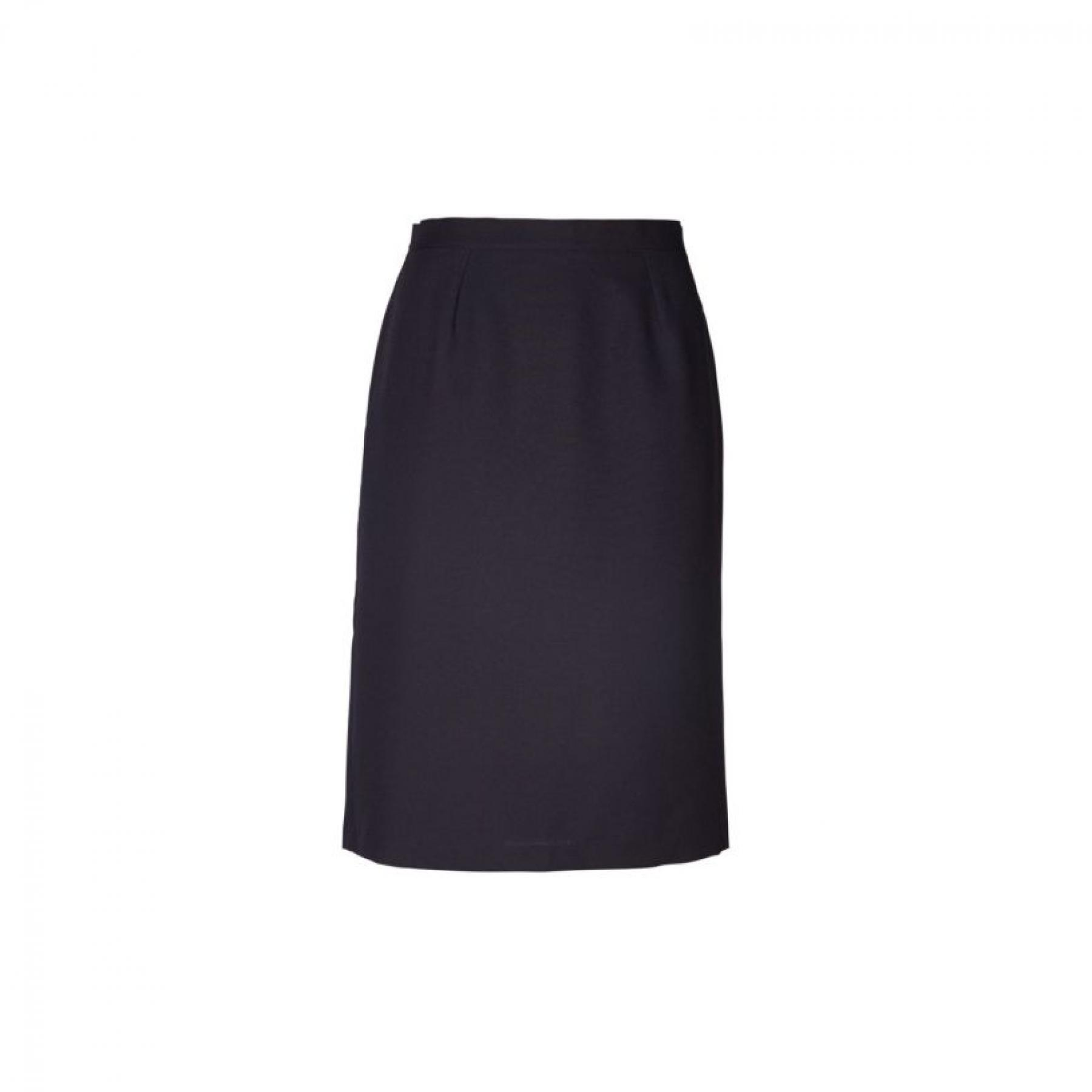 Emma Pencil Short Skirt - Navy
