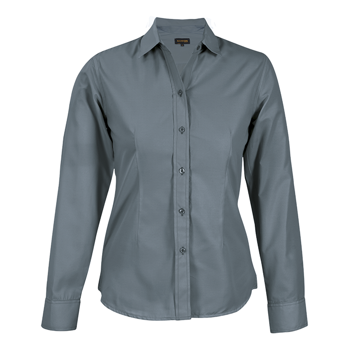 Ladies Easy Care Blouse Long Sleeve (lll-eas)