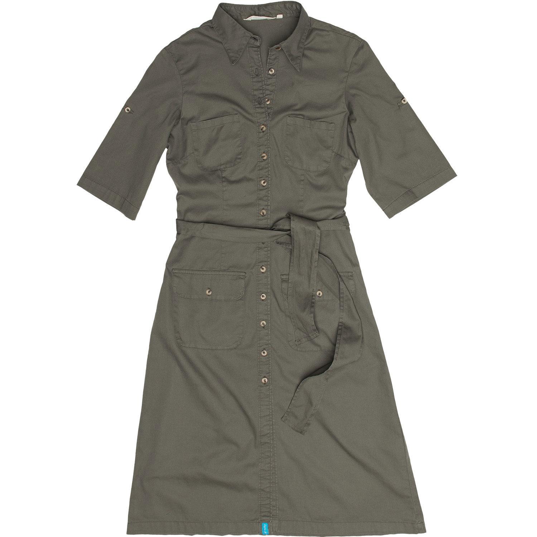Salty Lds Khaki / Olive Safari Bush Cargo Dress 8-22