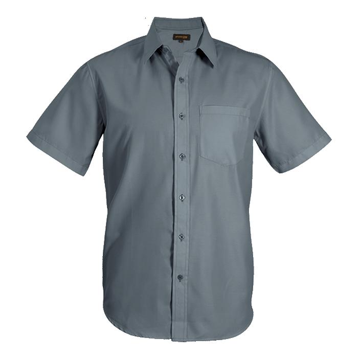 Mens Easy Care Lounge Shirt Short Sleeve (lo-eas)