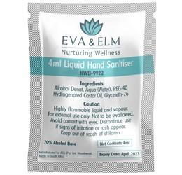 Eva & Elm Buxton Liquid Hand Sanitiser - 4ml (single)