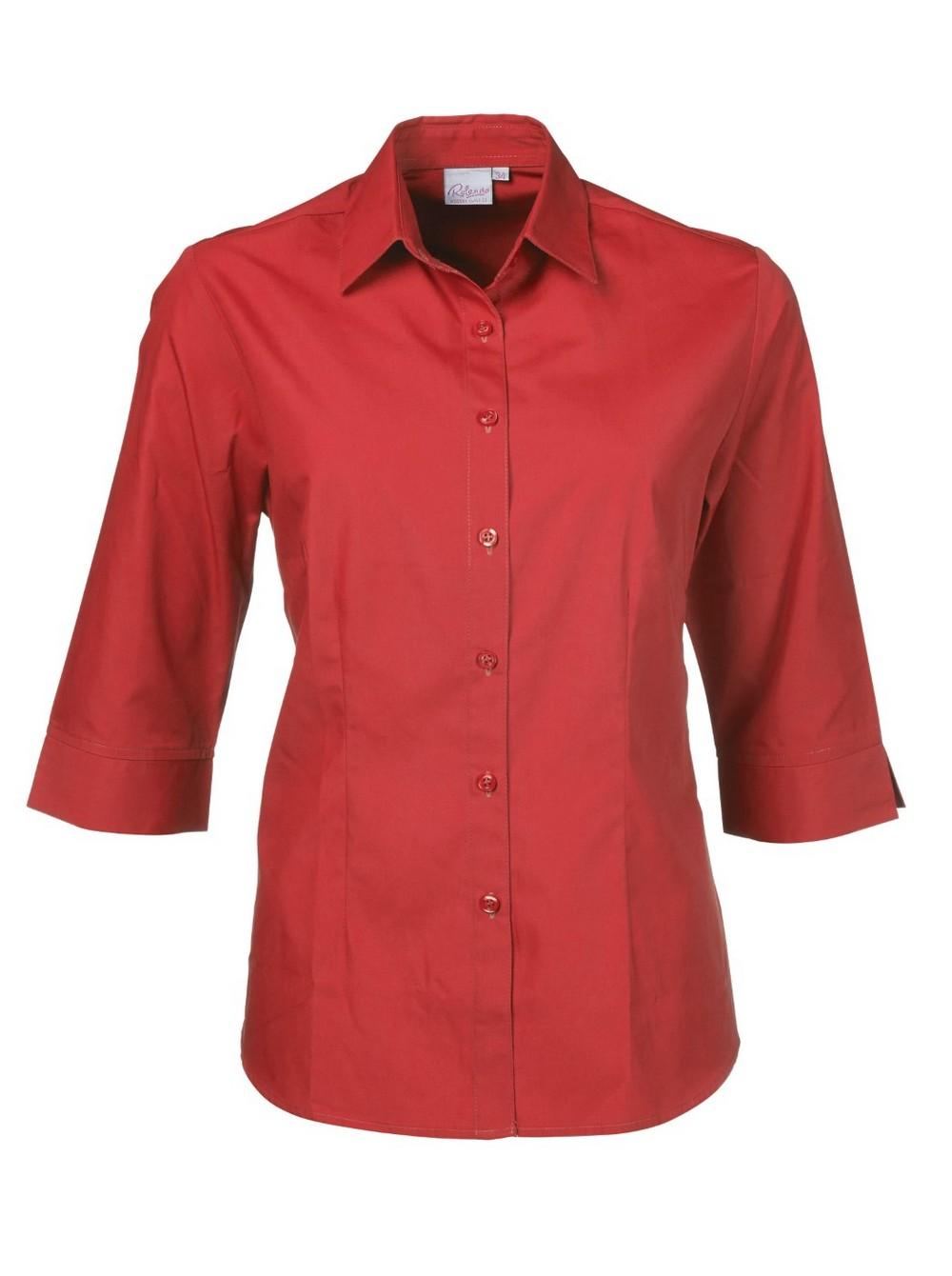 Cathy P070 3/4 Blouse - Red
