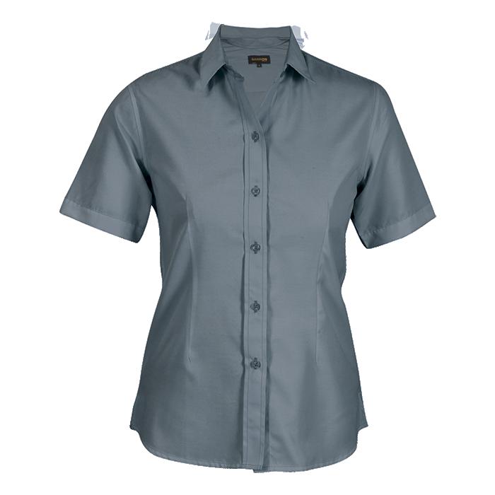 Ladies Easy Care Blouse Short Sleeve (ll-eas)