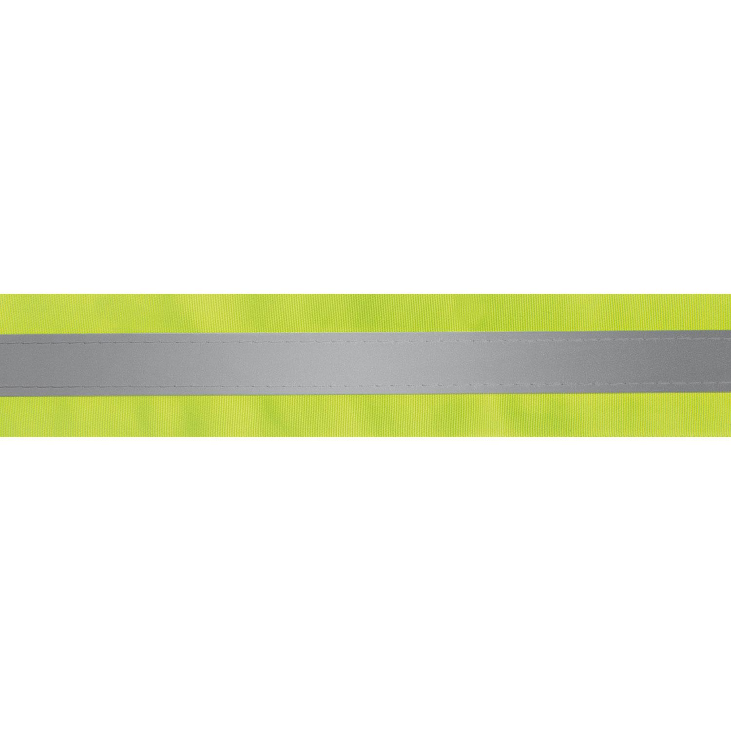 50mm Lime / Silver Reflective Tape