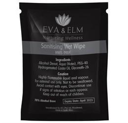 Eva & Elm Hereford Sanitising Wet Wipe (single)