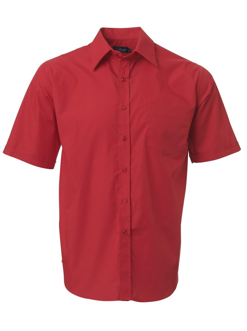 Mens P070 S/s Shirt - Red