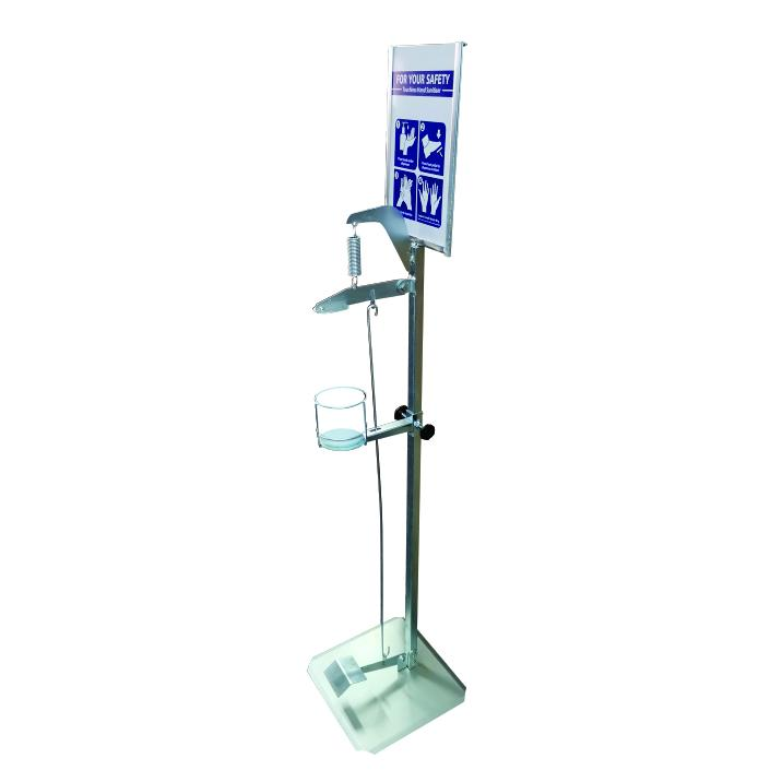Sanitiser Stand - Foot Operated