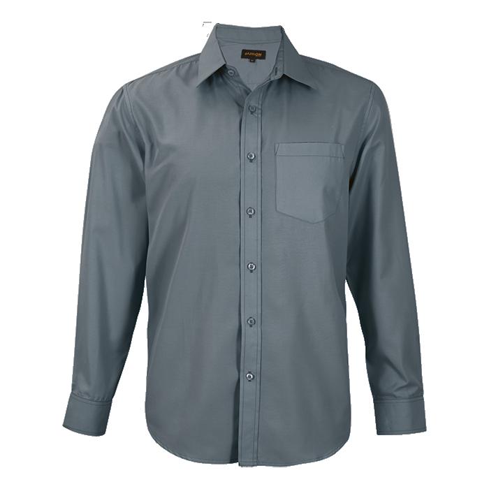 Mens Easy Care Lounge Shirt Long Sleeve (llo-eas)