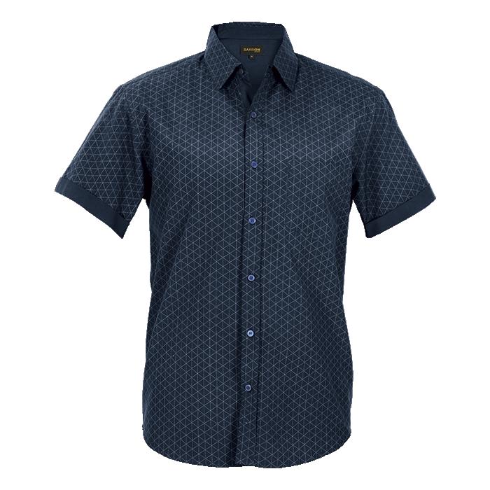 Mens Claremont Lounge Shirt Short Sleeve (lo-clr)