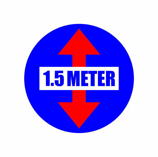 Floor Markers (30cm X 30cm) Design 1