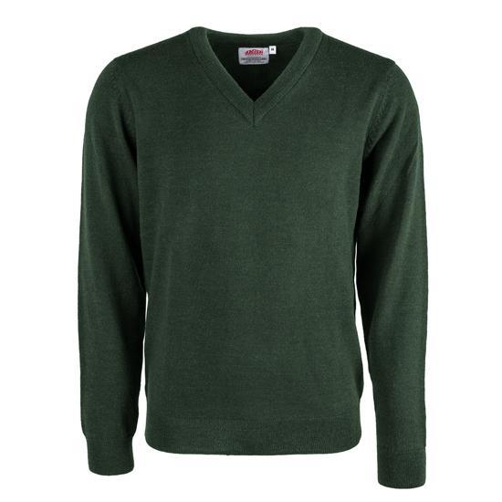 L/s V-neck Pullover