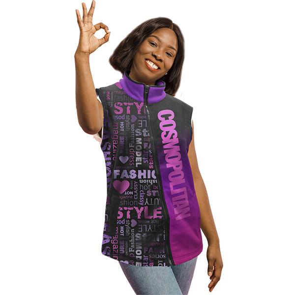 Ladies Sublimated Body Warmer 4xl