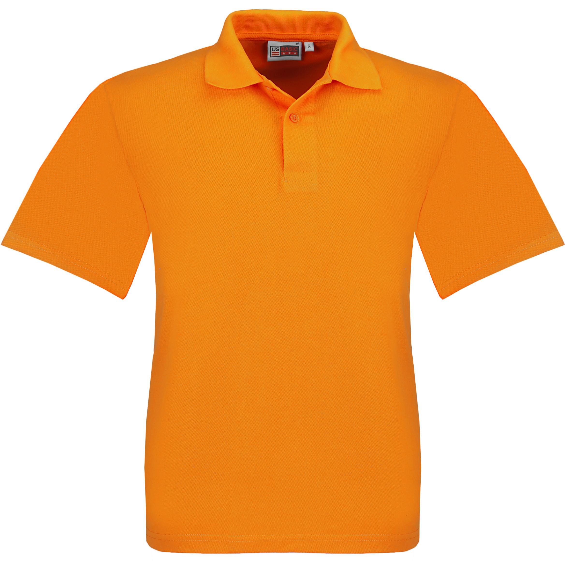 Kids Elemental Golf Shirt - Orange Only
