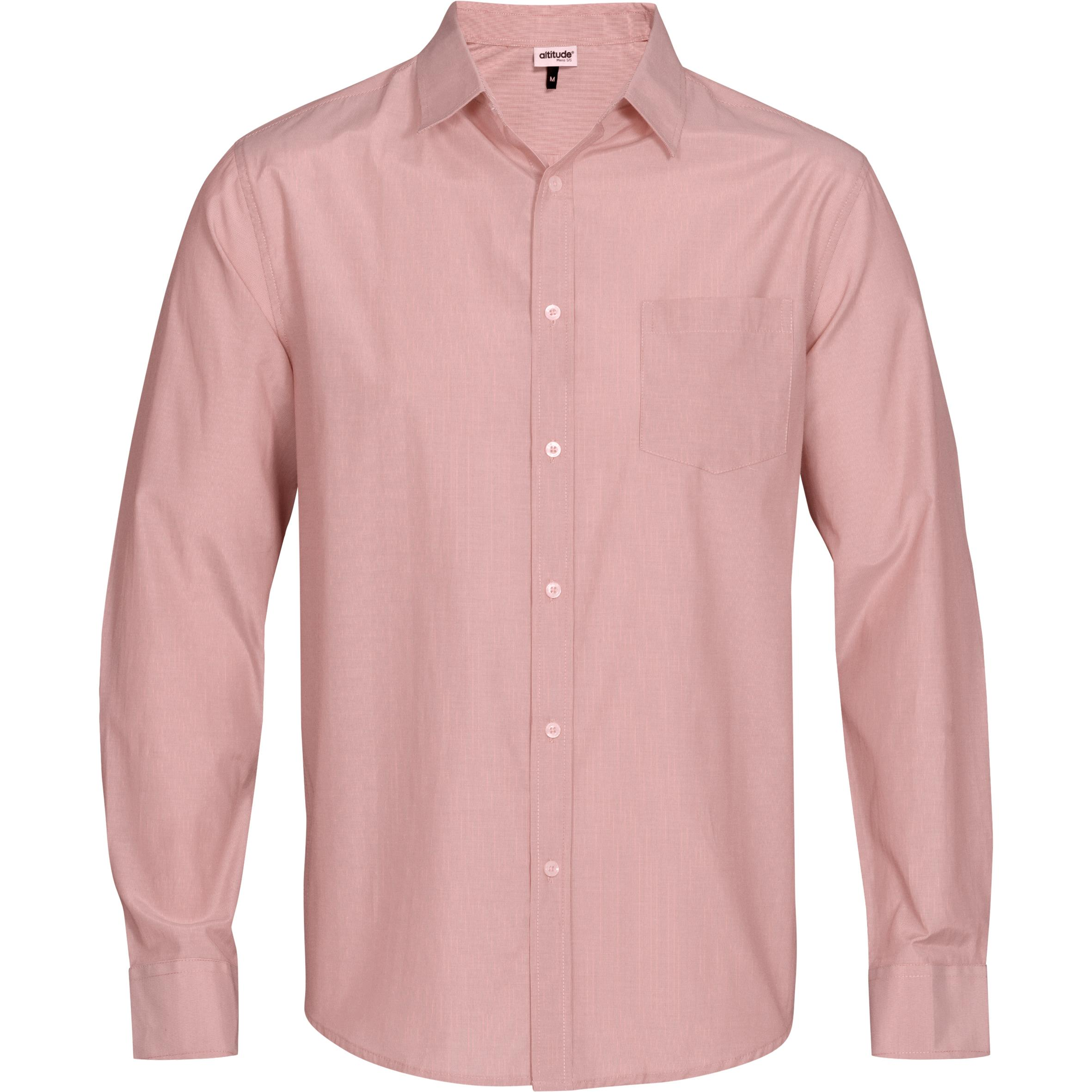 Mens Long Sleeve Portsmouth Shirt - Red Only