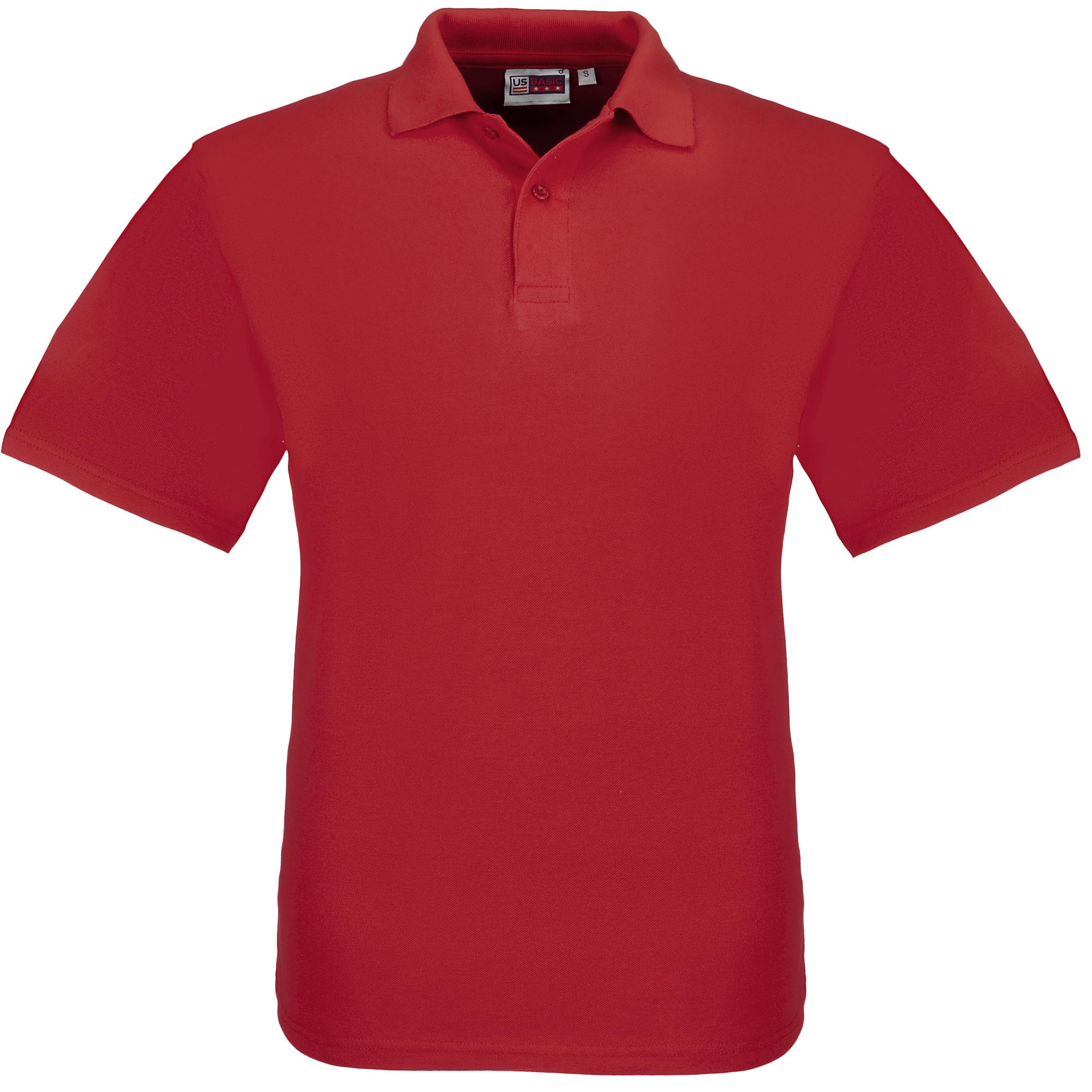 Kids Elemental Golf Shirt - Red Only