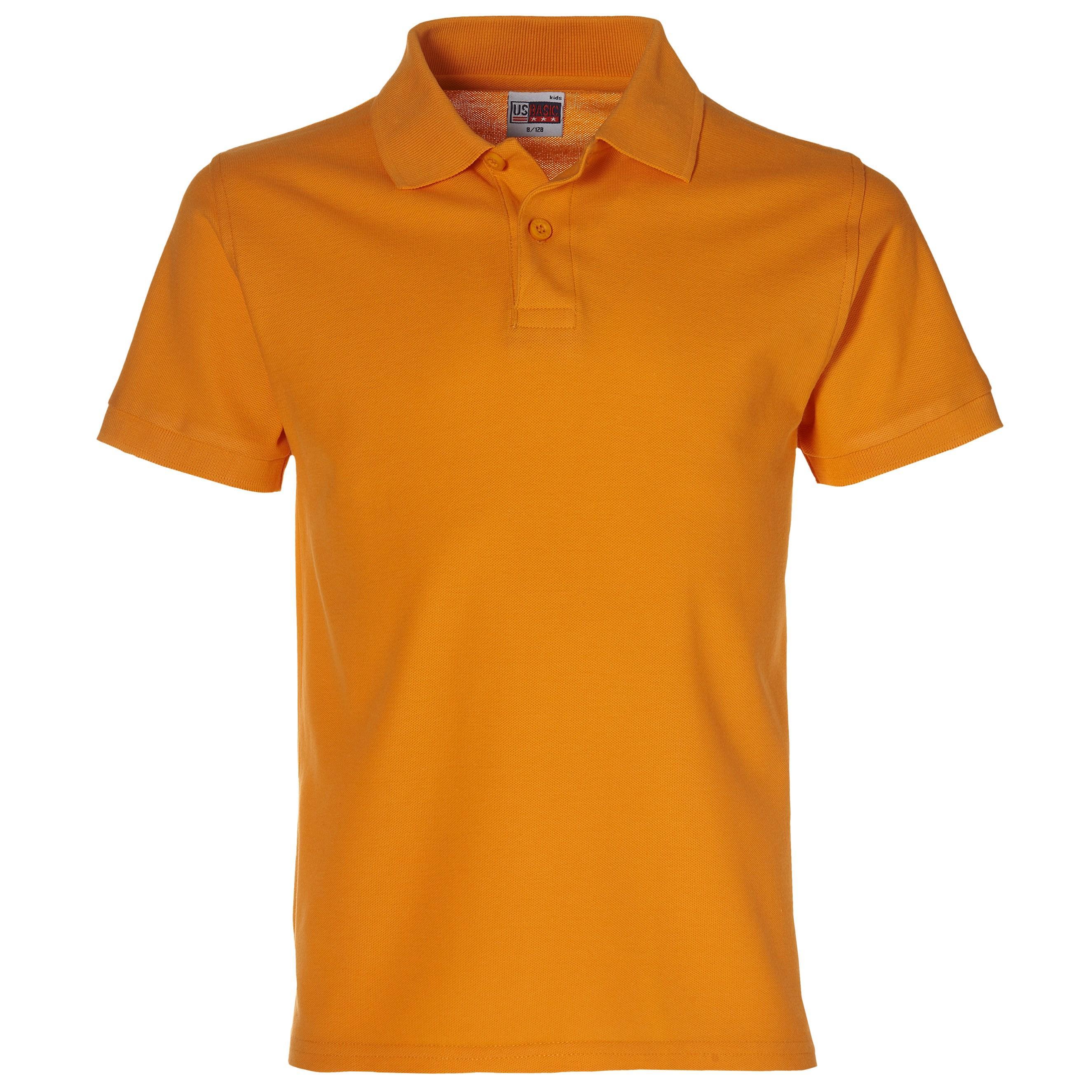 Boston Kids Golf Shirt - Orange Only