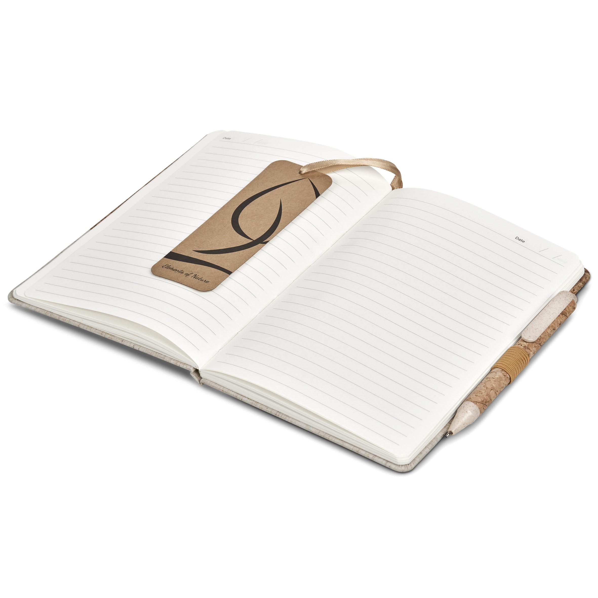 Giftsets   Okiyo Cardon Cork A5 Notebook Giftset - 2