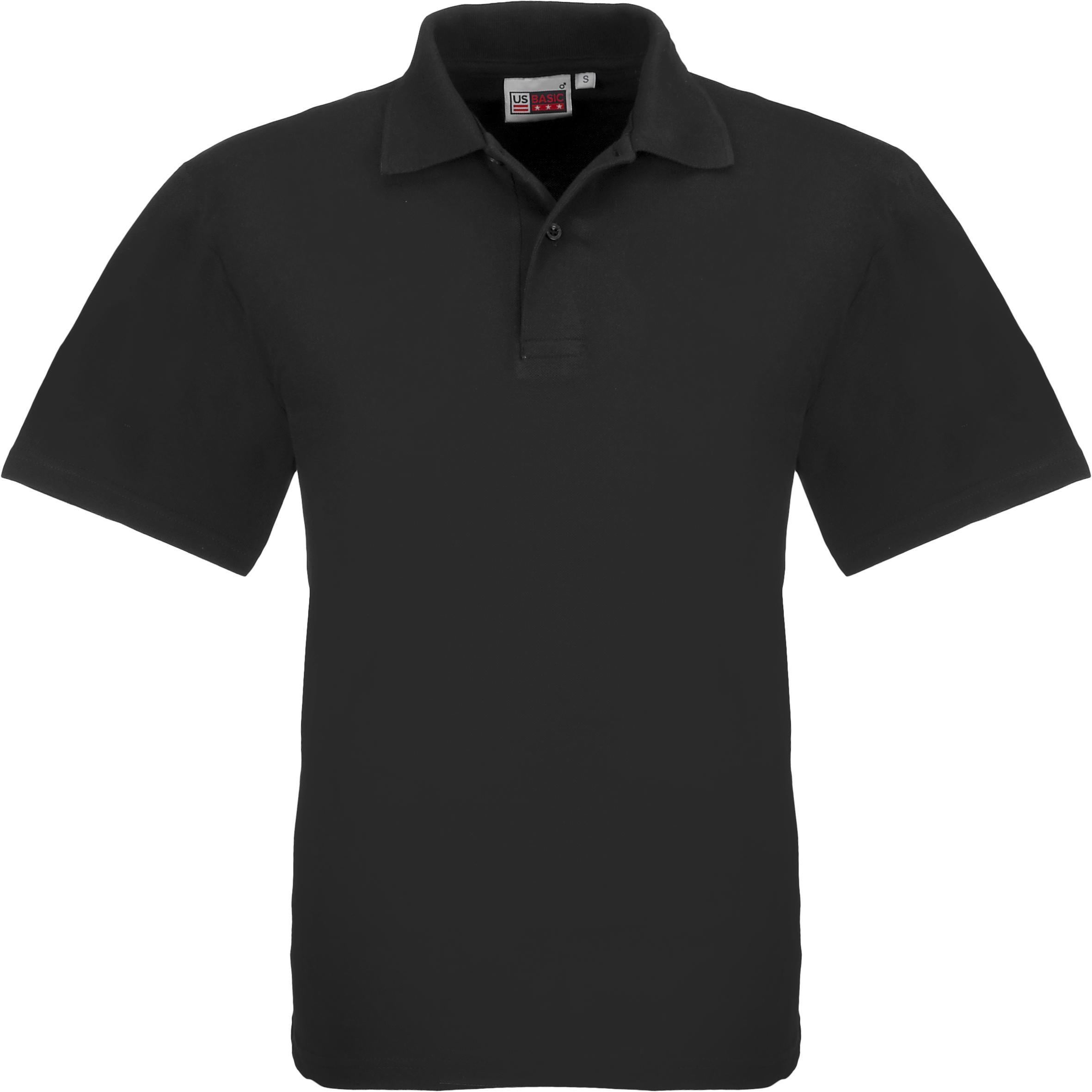 Kids Elemental Golf Shirt - Black Only