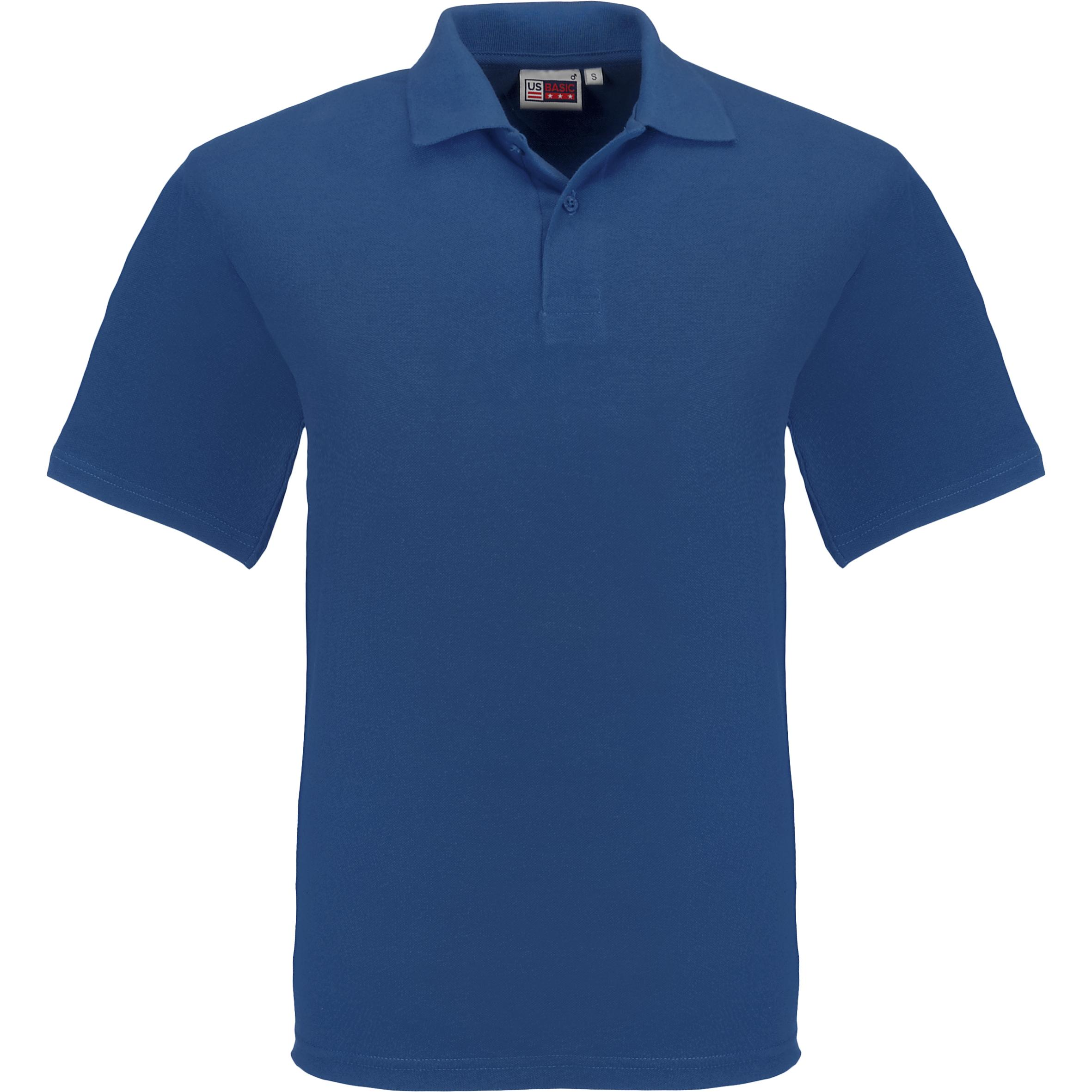 Kids Elemental Golf Shirt - Royal Blue Only
