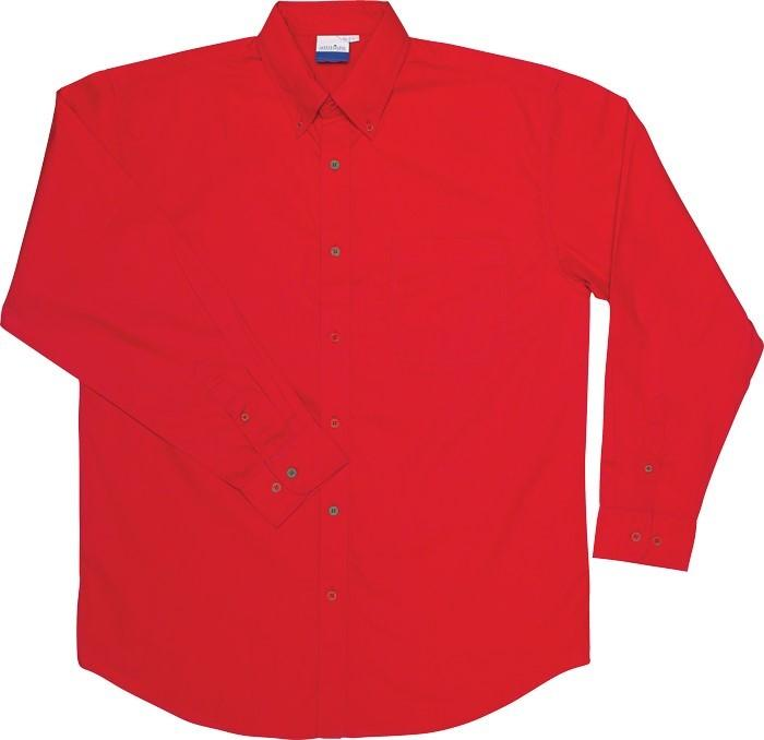 Jeff Short Sleeve W/button Down Collar - Red Only