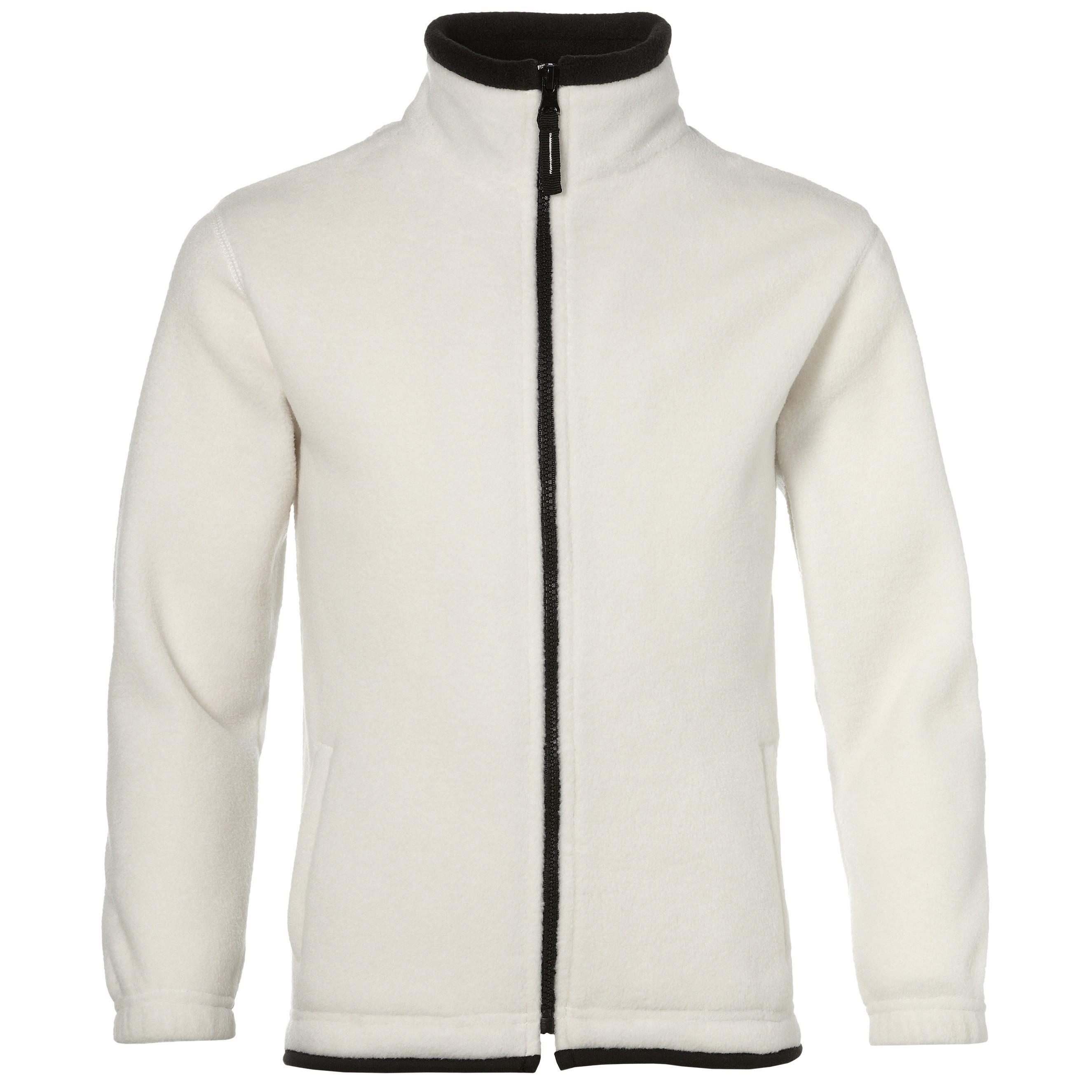 Us Basic Houston Kids Fleece Jacket - White Only