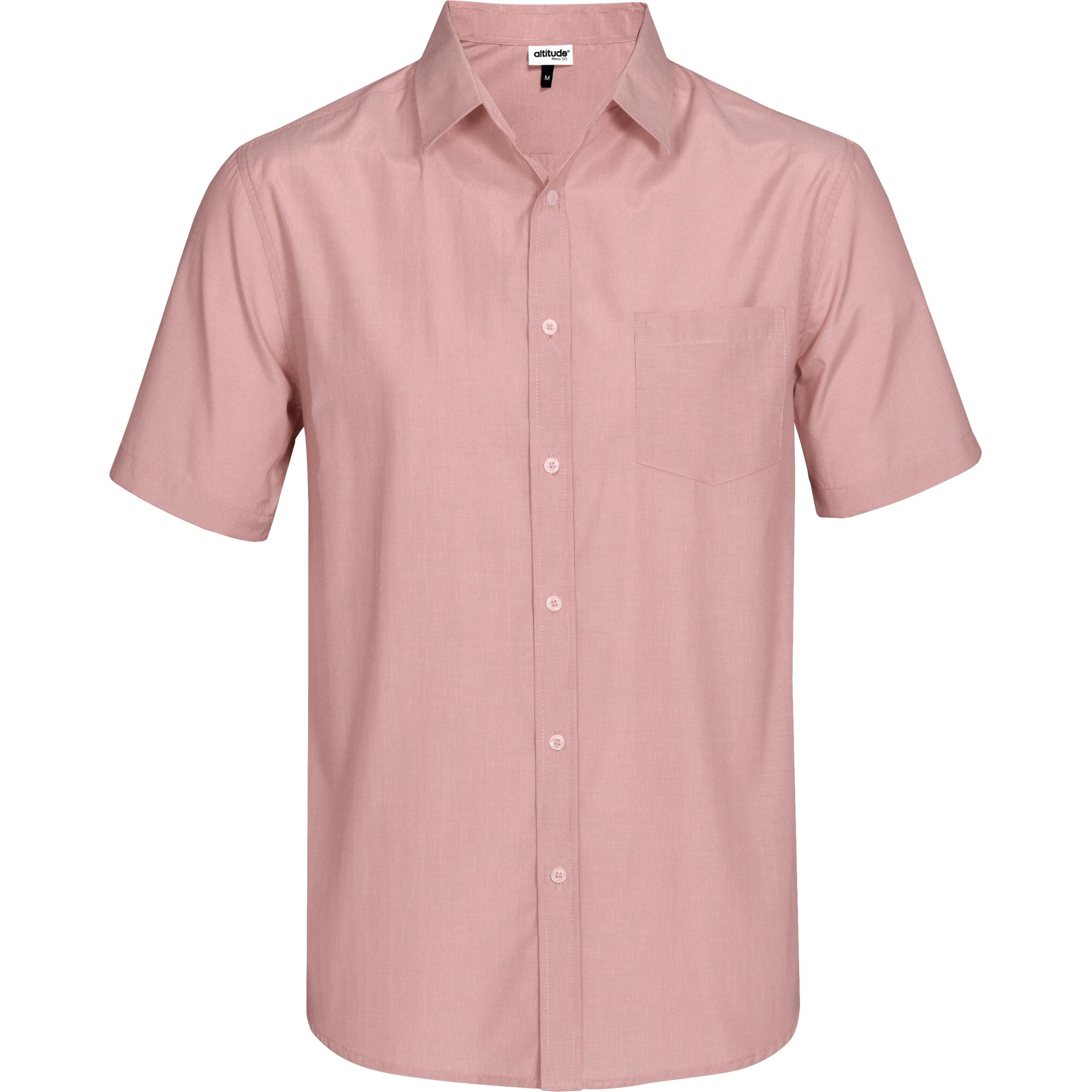 Mens Short Sleeve Portsmouth Shirt - Red Only