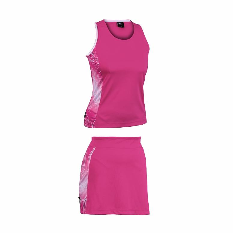 Brt Kiddies Triflex Single Set - Top And Skirt (brt415)