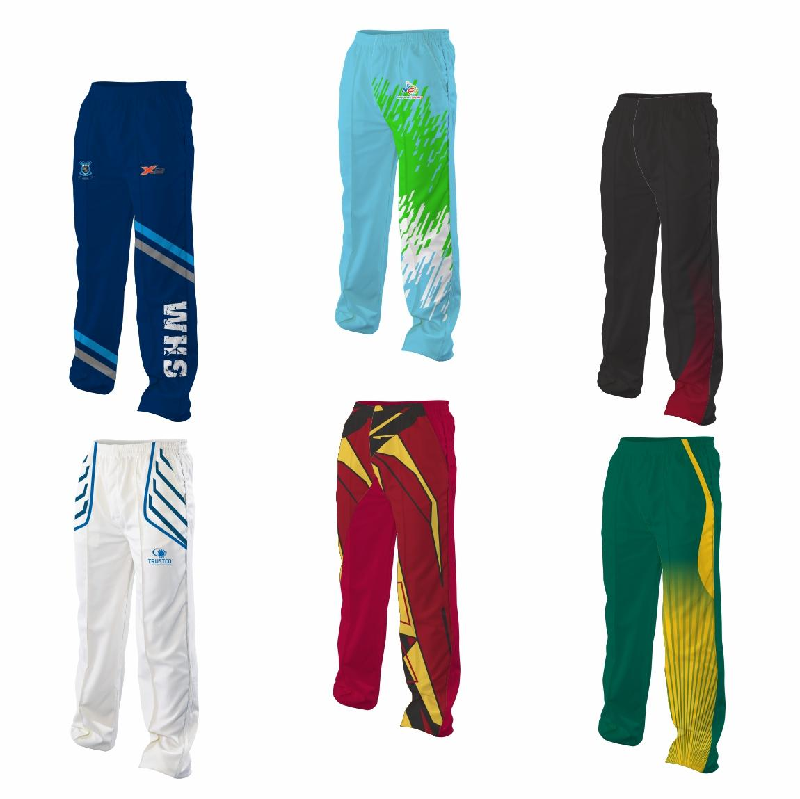 Sublimated Cricket Pants Triflex Senior