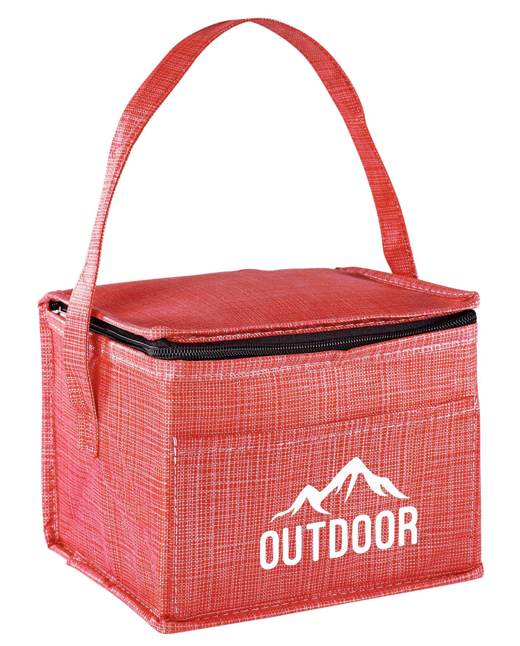Synchro 6-can Cooler - Red Only