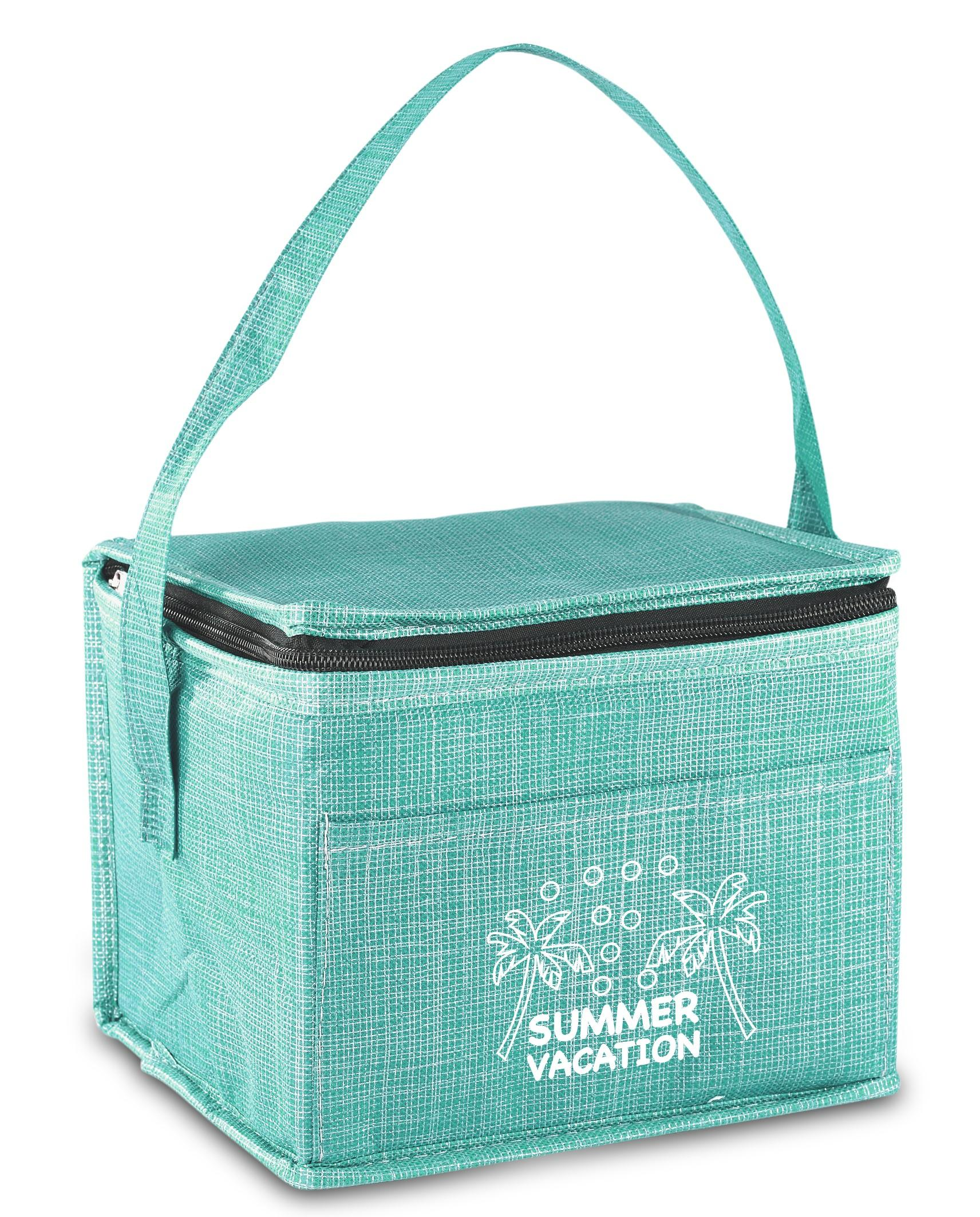Synchro 6-can Cooler - Turquoise Only