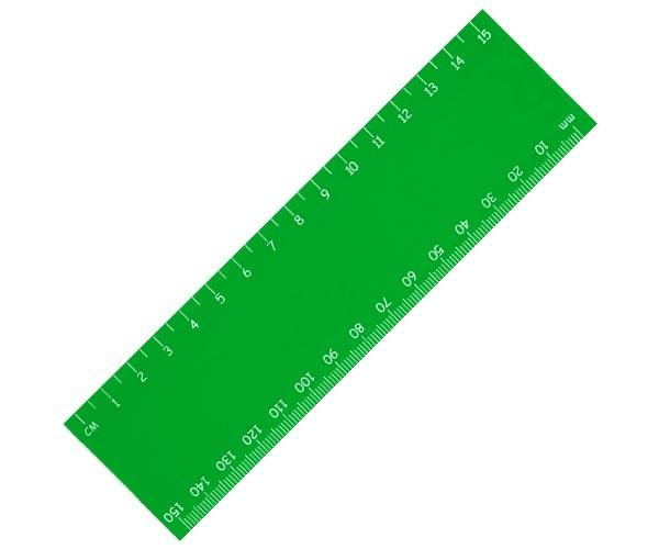 Stellar 15cm Ruler - Lime Only
