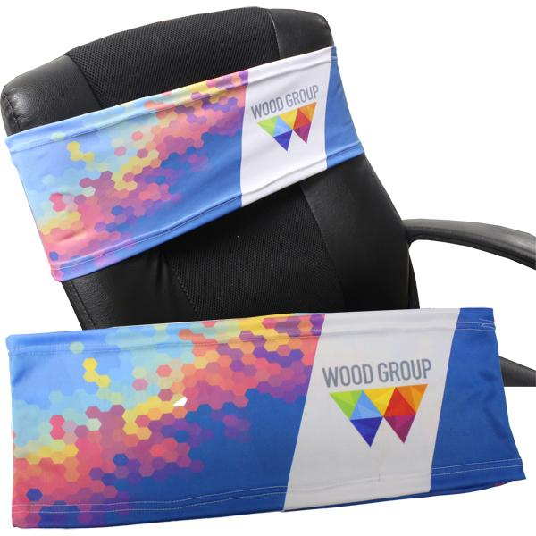 Rolo  Chair Slip Cover With Fc Print