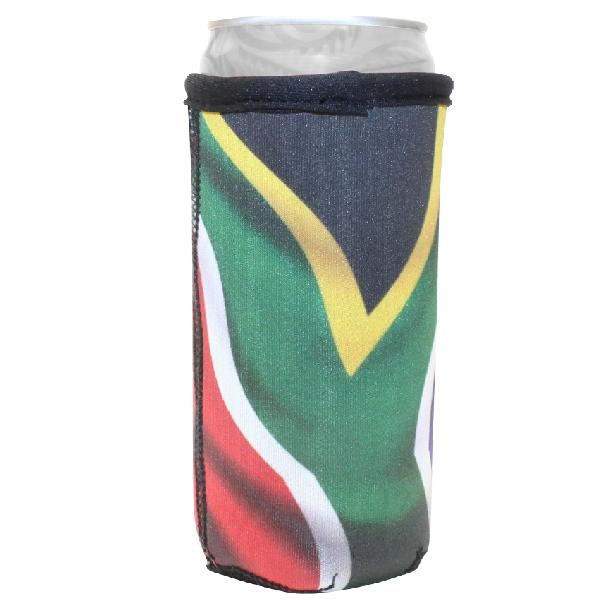 Sa Flag Can Cooler 300ml With Fc Sublimation