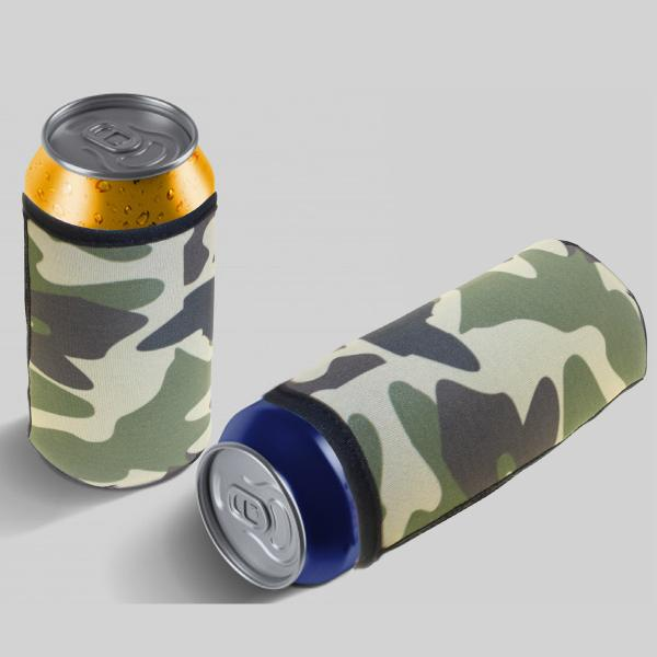 Camouflage Can Cooler 400ml With Fc Sublimation